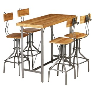 Plympt Dining Set With 4 Chairs By Williston Forge