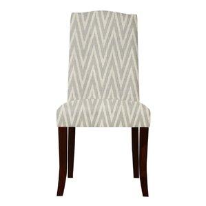 Guttenberg Chervon Parsons Chair (Set of 2) by Latitude Run