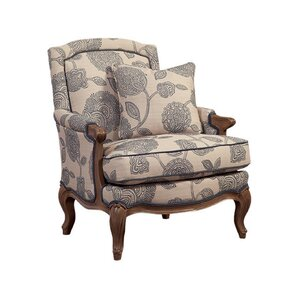 Carved Wood Accent Chair by Paula Deen Home