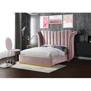 Cicero Upholstered Panel Bed by Everly Quinn