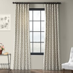 Mid Century Modern Curtains Drapes You Ll Love In 2021 Wayfair