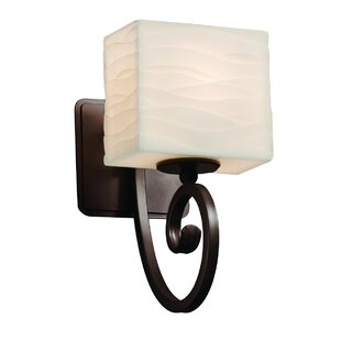 Wiedman 1-Light Armed Sconce by Bloomsbury Market