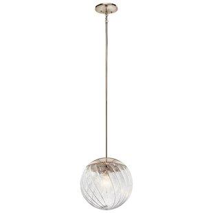 Ivy Bronx Dayna 1-Light Globe Pendant