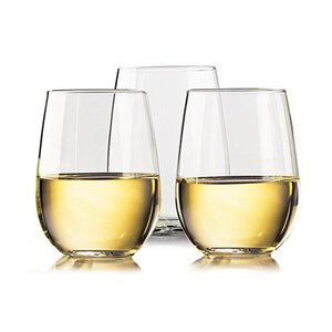 Unbreakable 20 Oz. Stemless Wine Glass (Set of 4)