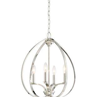 Edgebrooke 4-Light Globe Chandelier