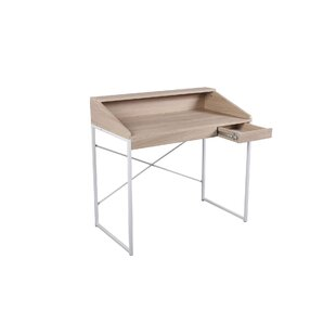 Piedra Desk by Wrought Studio Today Sale Only