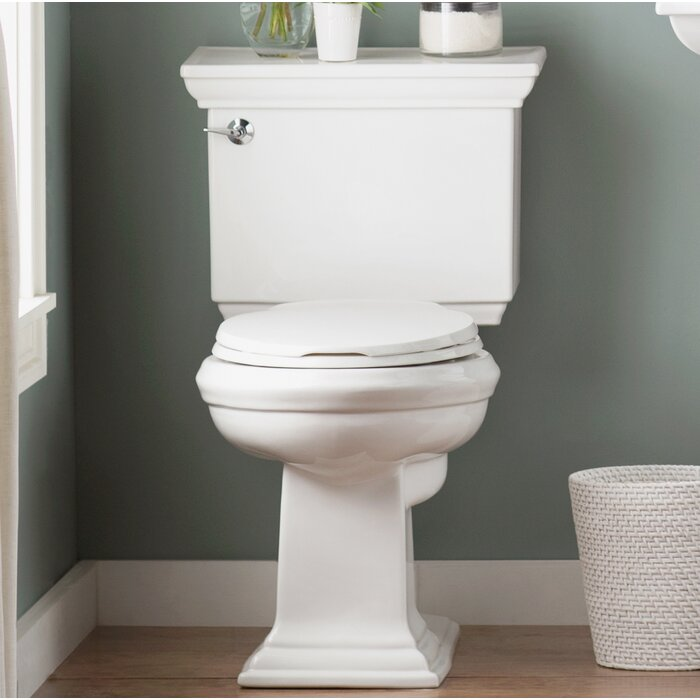 Memoirs Stately 1 28 Gpf Elongated Two Piece Toilet