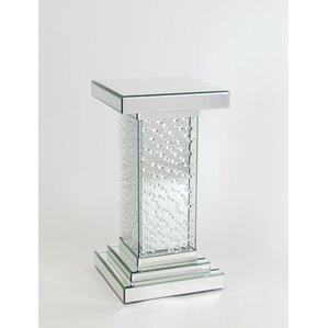 Carlee Pedestal End Table by Orren Ellis