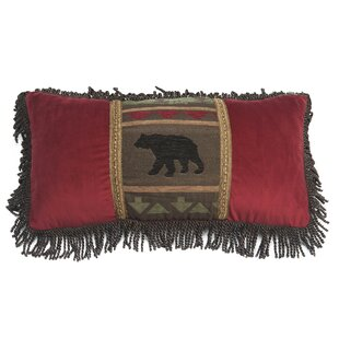 Peregrine Bear Lumbar Pillow with Zipper