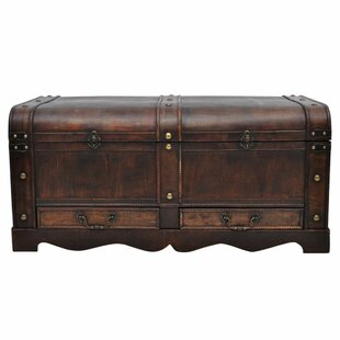Arnoldo Wooden Large Treasure Chest By Bloomsbury Market