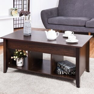 Bellefontaine Lift Top Coffee Table By Winston Porter
