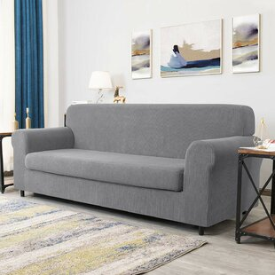 Dlerfeut Box Cushion Sofa Slipcover by Winston Porter