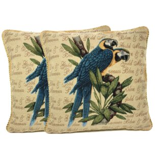 Birds of Paradise Pillow Case (Set of 2)