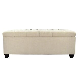 Erik Wood Storage Bench by DarHome Co Great Reviews