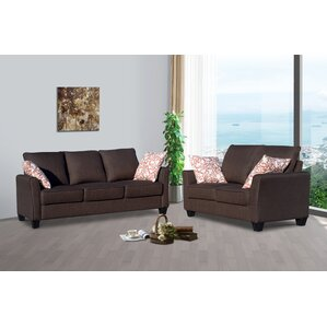 Daniela 2 Piece Living Room Set by Living In..
