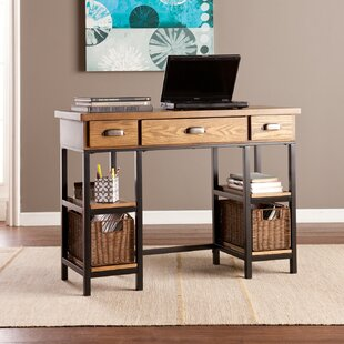 Midville Solid Wood Computer Desk