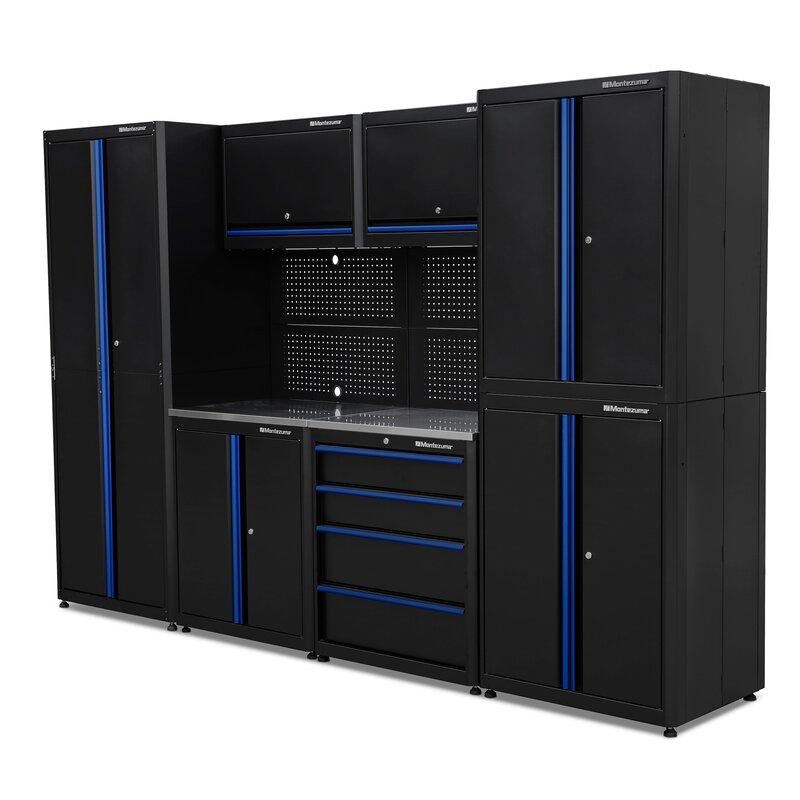 Montezuma 9 Piece Garage Storage System Wayfair Ca