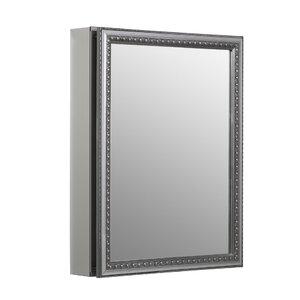 20 x 26 Aluminum Mirrored Medicine Cabinet