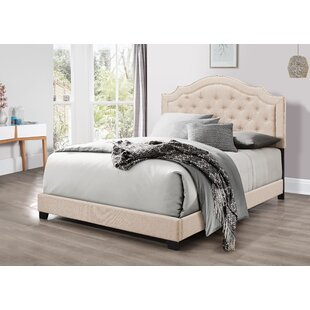 Johanson Upholstered Panel Bed by House of Hampton