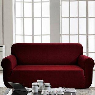 Box Cushion Sofa Slipcover By Latitude Run