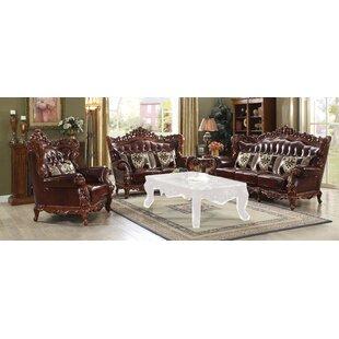 Englishcombe 3 Piece Living Room Set By Astoria Grand