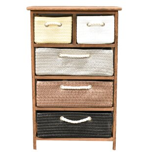 Edisto 5 Drawer Accent Chest by Winston Porter