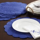 Bucyrus Scalloped 17 Cotton Placemat (Set of 6)
