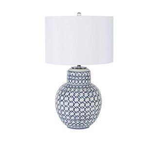 Diamond Ginger Jar 29 Table Lamp