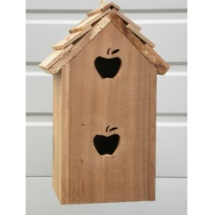 Cedarnest Condo 14 in x 6 in x 6 in Birdhouse