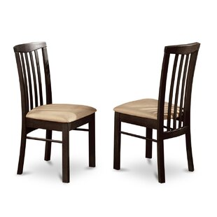 Artin Side Chair in Faux Leather (Set of 2) Andover Mills