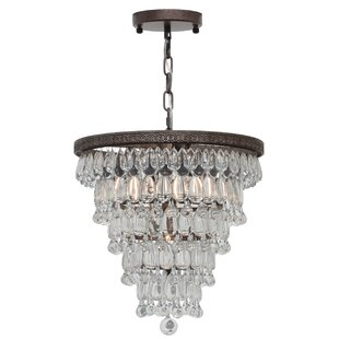 Dix 7-Light Crystal Chandelier by Willa A..