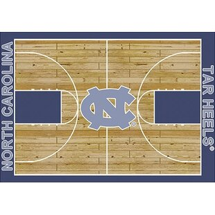 NCAA College Home Court North Carolina Novelty Rug ByMy Team by Milliken