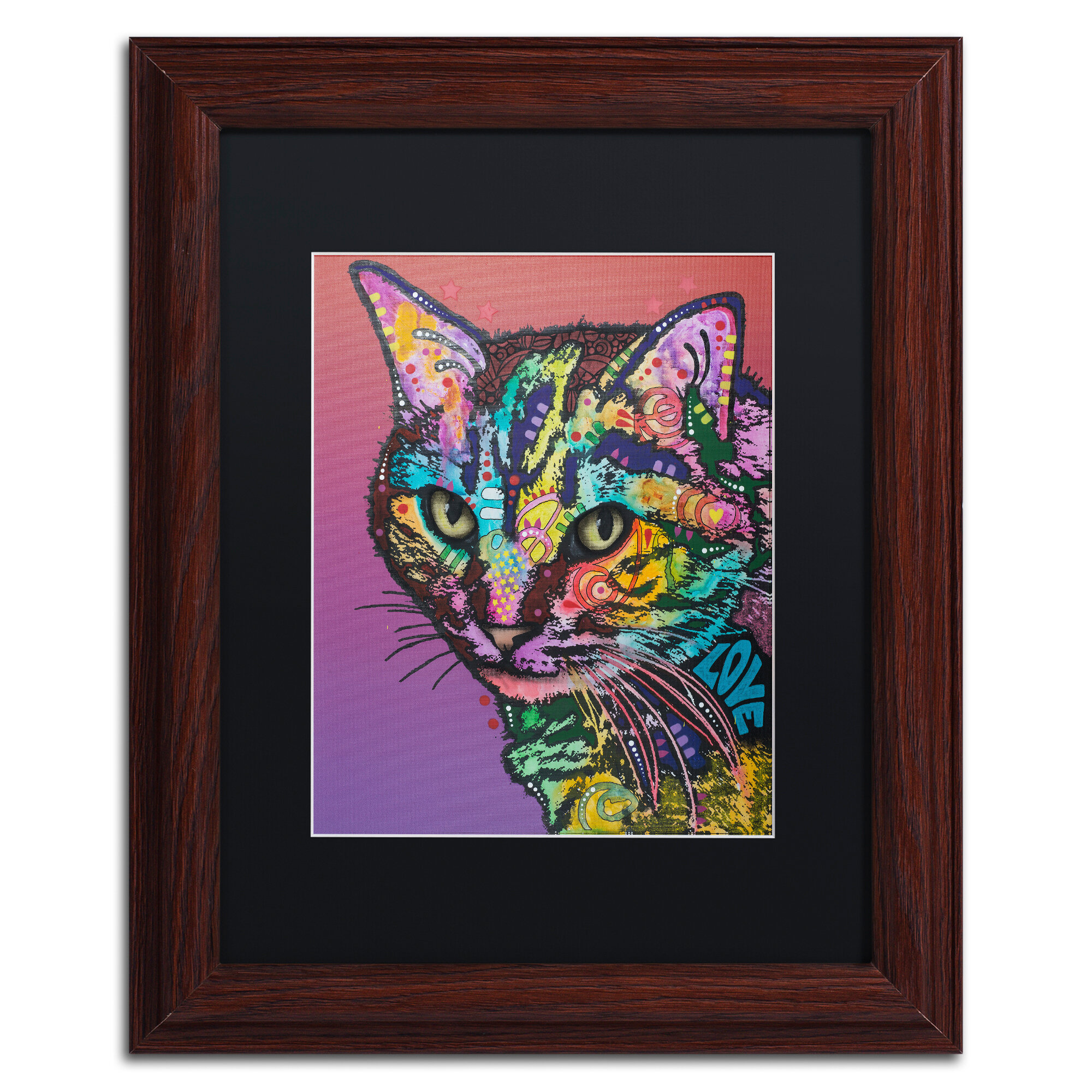 Trademark Art Lucy Custom 4 Framed Graphic Art Print Wayfair