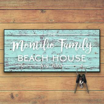 4 Wooden Shoes 11 X 5 X 0 63 Personalized Family Key Hooks Wayfair