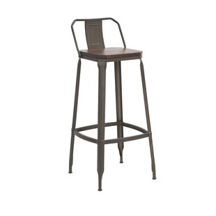 Skinner 78cm Bar Stool By Williston Forge