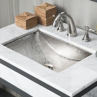 Online Reviews Avila Metal Rectangular Undermount Bathroom Sink By Native Trails, Inc.