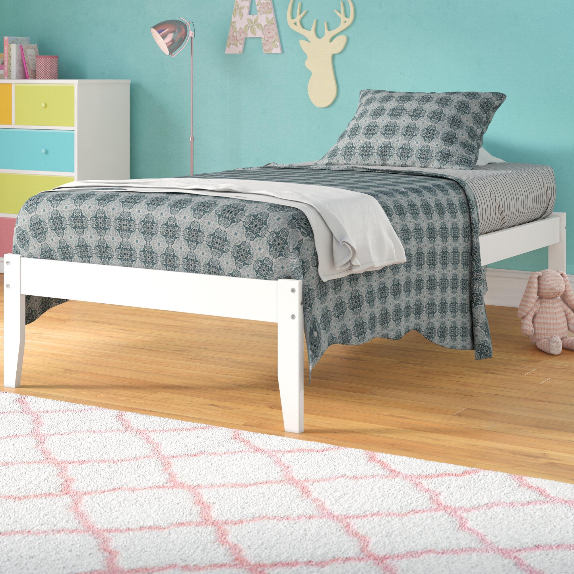 Isabelle & Max Bolick Extra Long Twin Platform Bed & Reviews | Wayfair