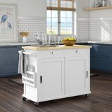 Cortez Kitchen Island by Beachcrest Home