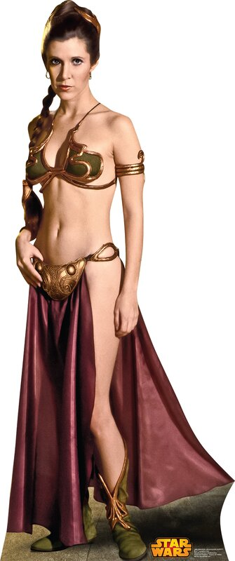 Advanced Graphics Star Wars Princess Leia Slave Girl