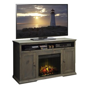 Leverette TV Stand for TVs up to 60 with Fireplace by Darby Home Co