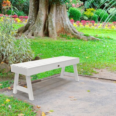 Groovy Darby Home Co Berry Picnic Bench Color White Ibusinesslaw Wood Chair Design Ideas Ibusinesslaworg