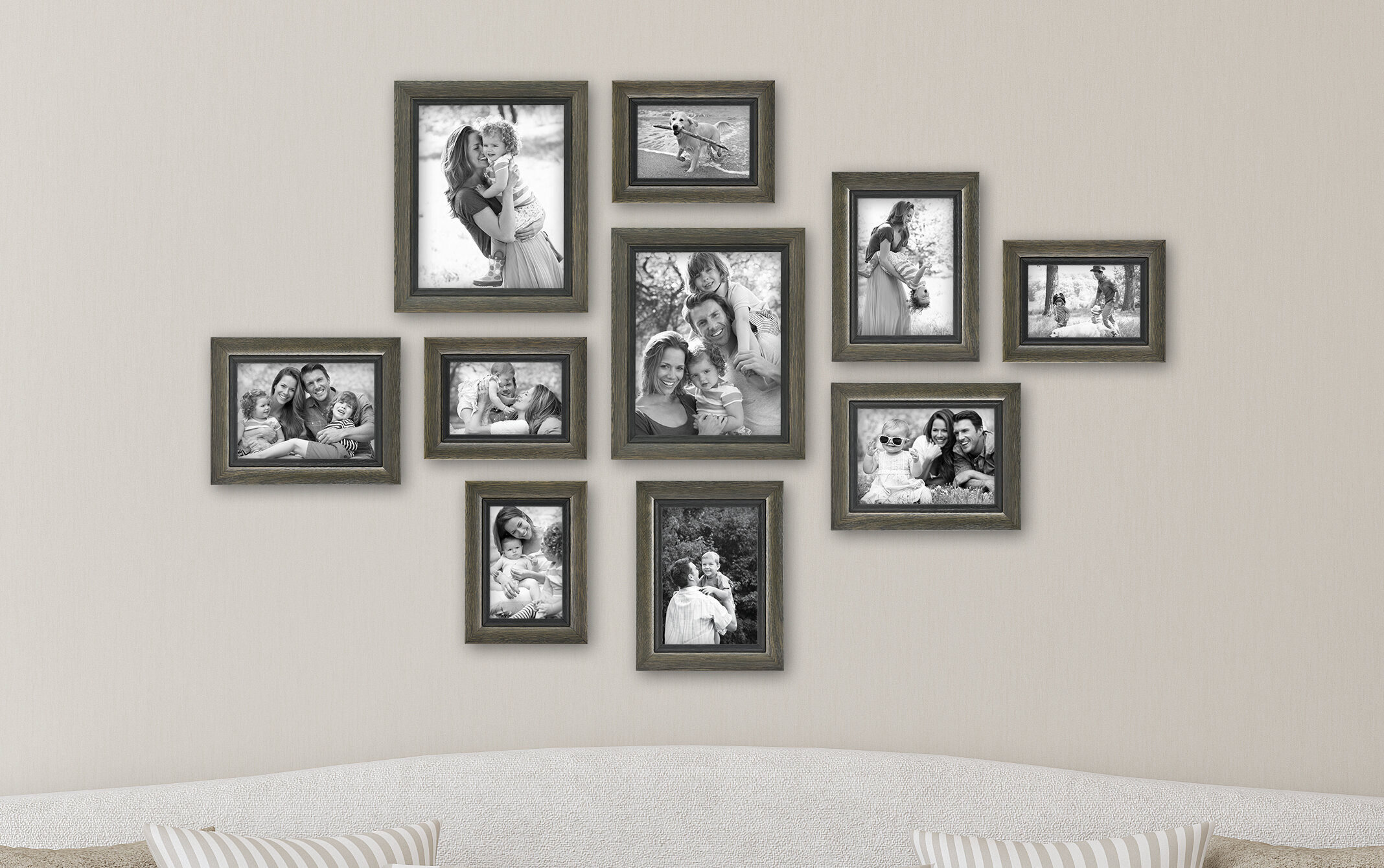Charlton Home 10 Piece Ince Picture Frame Set Reviews Wayfair