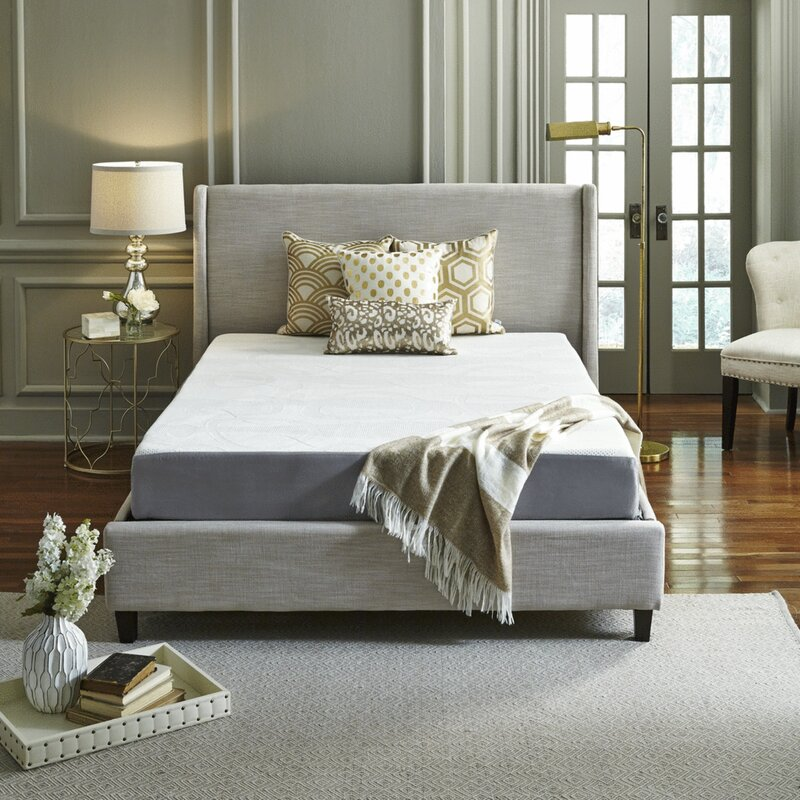 Luxury Solutions 8 Plush Memory Foam Mattress Reviews Wayfair
