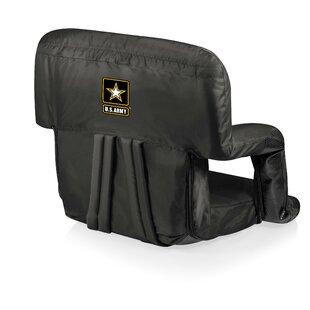 Army Ventura Reclining Stadium Seat with Cushion by ONIVA™