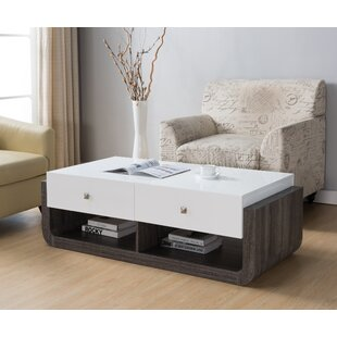Coupon Evelyn Modern Coffee Table ByIvy Bronx