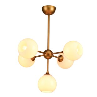 Everly Quinn Harish 5-Light Chandelier