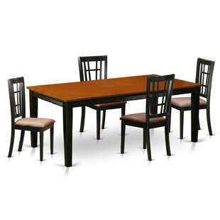 Pilger 5 Piece Extendable Dining Set