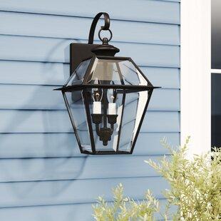 Billips 2-Light Outdoor Wall Lantern