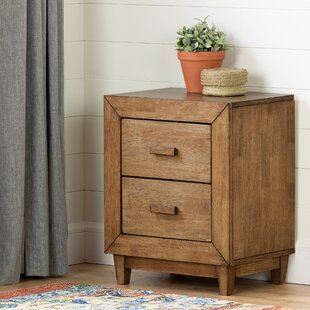 Lubello 2 Drawer Nightstand by South Shore