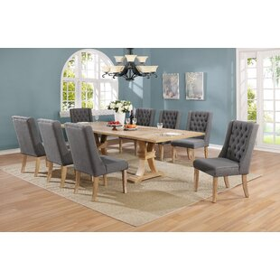 Sevilla 9 Piece Extendable Dining Set Gracie Oaks
